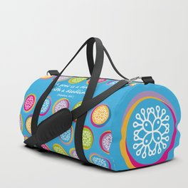 Colorful Texture Duffle Bag