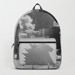 1915 Detroit Godzilla Historic Attack!!  Backpack