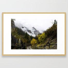East Elk Creek Framed Art Print