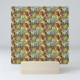 Ernst Haeckel Mustard Sea Squirts Tossed Mini Art Print