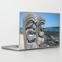 tiki Laptop & iPad Skins featuring Tiki by courtney2k ⚓ design™