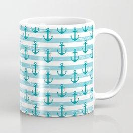 AFE Nautical Anchor Pattern Coffee Mug