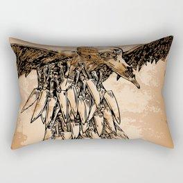 KNIFE VULTURE Rectangular Pillow