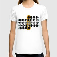 moon phases T-shirts featuring The Moon phases by tuditees