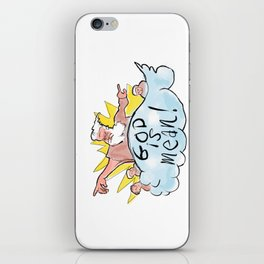 God Is Mean iPhone Skin