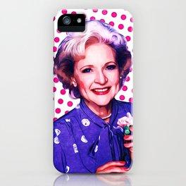 Betty White - Pop Art iPhone Case