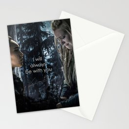 "Clexa: "" I will always be with you"" Stationery Cards"
