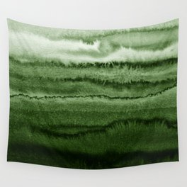 WITHIN THE TIDES FOREST GREEN by Monika Strigel Wall Tapestry