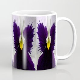 Watercolor of a white and purple pansy  Coffee Mug