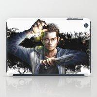 stiles stilinski iPad Cases featuring Void Stiles by Hosio