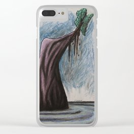 No. 31, Unbalanced Island Clear iPhone Case
