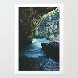 The Caves Art Print