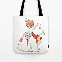 Emma The Promised Neverland Tote Bag
