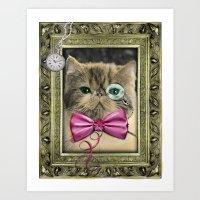 Lord Cat  Art Print