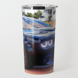 Highway Police Patrol Challenger Demon Travel Mug