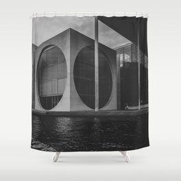 Future is Today. Berlin Shower Curtain