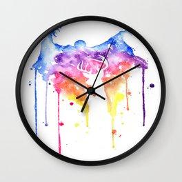 Dementor and Harry's Patronus Wall Clock
