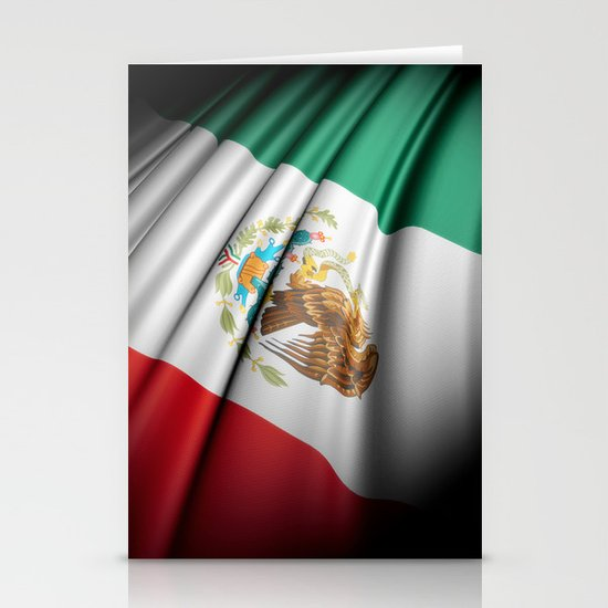 Flag of Mexico Stationery Cards