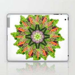 veggies mandala Laptop & iPad Skin