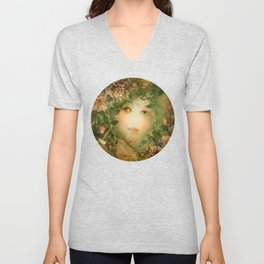 """The memory of an imagined childhood"" Unisex V-Neck"
