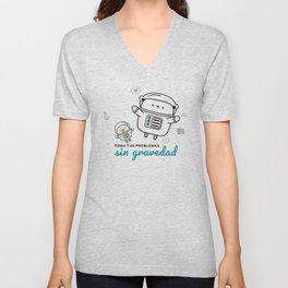 T shirt Gravedad Unisex V-Neck