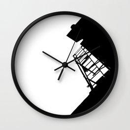 New York Fire Escape Wall Clock