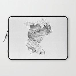 Beta Fish Wave Laptop Sleeve
