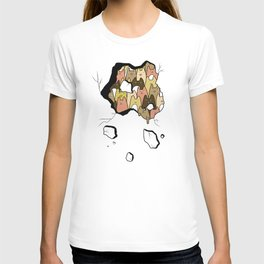 A cat lady's soul (normal) T-shirt