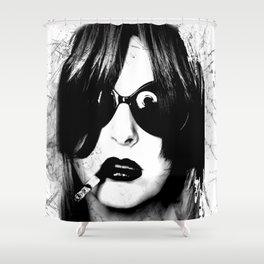 Ignited Design Shower Curtain