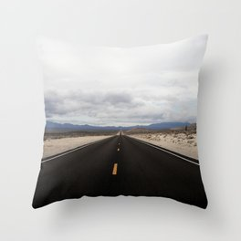 Roadtrips are always a good idea Throw Pillow