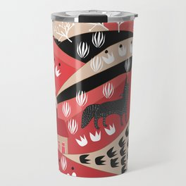 Wolf's Promise Land Travel Mug
