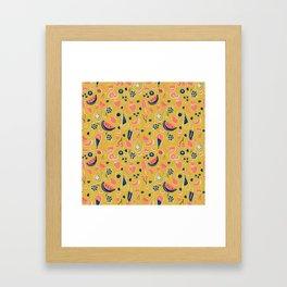 Summer Food Fiesta Framed Art Print