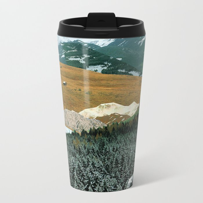 Experiment am Berg 21 Metal Travel Mug