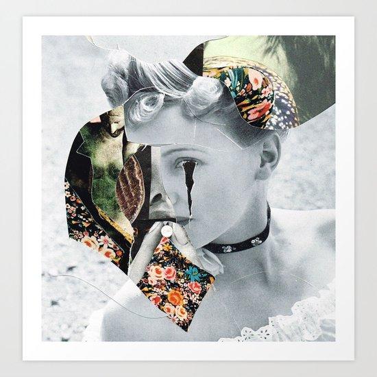 ///// (Bela Lugosi's Dead ) Art Print