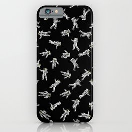 Too Many Astronauts iPhone Case