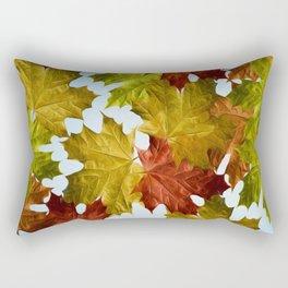 Autumn Leaf Brite Rectangular Pillow