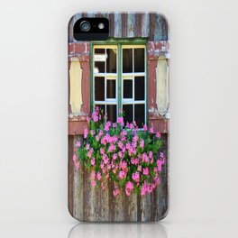 Good Morning Geraniums! iPhone Case