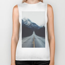Mountain Road #forest Biker Tank