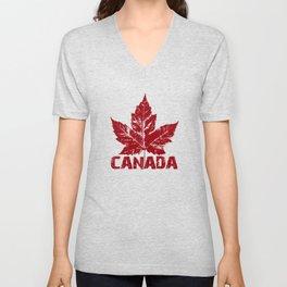 Cool Canada Souvenirs Unisex V-Neck