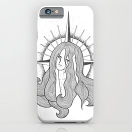 St. Alexandra in Tears iPhone Case