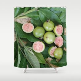 FRUITS & LEAVES Shower Curtain