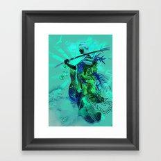 Life Through Death Framed Art Print