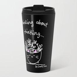 Thinking About Thinking Travel Mug