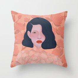 SATURNINE Throw Pillow