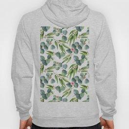 Bamboo and eucaliptus pattern Hoody