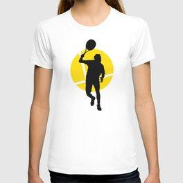 TENNIS Forehand Lines T-shirt