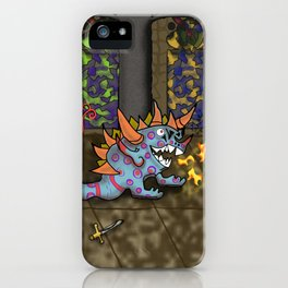 The Doodlethwumpus Beastie iPhone Case