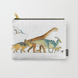 Dinosaur Parade Carry-All Pouch