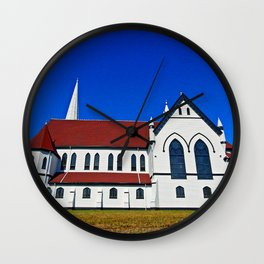 St. Mary's Church side view Wall Clock