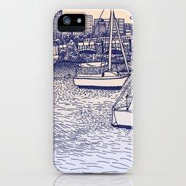Charles River Esplanade iPhone Case